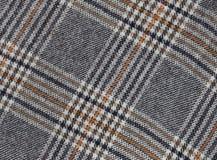 与苏格兰动机的纺织品背景 免版税库存图片