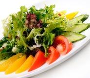 与菜的沙拉 免版税图库摄影