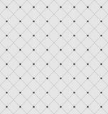 与菱形和小点的无缝的几何纹理 免版税库存照片