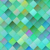 与菱形的五颜六色的几何背景在被弄脏的梯度b 皇族释放例证
