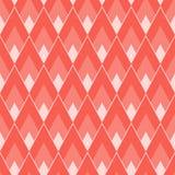 与菱形的几何瓦片样式与锋利的角度 皇族释放例证