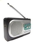 与葡萄酒样式的古色古香的收音机 免版税库存照片
