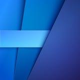 与蓝纸层数的抽象背景 库存照片