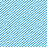 与蓝色两音色的无缝的样式 对角条纹摘要背景传染媒介 库存照片