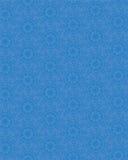 与蓝色有花边的雪花的无缝的纹理 库存图片