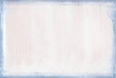 与蓝色框架的软的桃红色纹理 免版税图库摄影