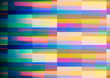 与蓝色边缘的抽象几何背景 免版税库存照片