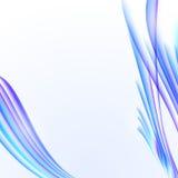 与蓝色镶边纹理,空白的拷贝的抽象白色背景 库存照片