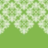 与蔓藤花纹和东方元素的锦缎传染媒介花卉样式 免版税图库摄影
