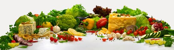 与蔬菜的构成 库存照片