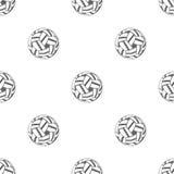 与藤球的无缝的样式 图库摄影