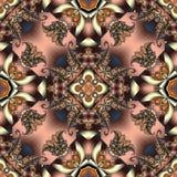 与螺旋样式的美妙的抽象背景 您能使用它 库存照片