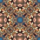 与螺旋样式的美妙的抽象背景 您能使用它 免版税图库摄影