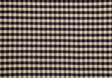与补缀品设计纹理的棉织物 重叠的小条 背景 免版税库存图片