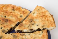 与被删去的部门的饼 免版税库存图片