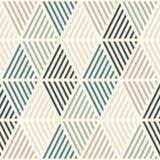与被孵化的金刚石的无缝的样式 Argyle墙纸 菱形和锭剂主题 重复的几何图 皇族释放例证