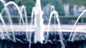 与被弄脏的fontain的抽象背景 股票录像