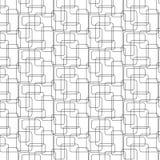 与被环绕的边缘的相交的长方形 免版税库存图片