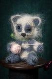 与被编织的动物的艺术性的构成 免版税库存图片