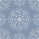 与被连接的线和小点的无缝的几何样式 也corel凹道例证向量 免版税库存图片