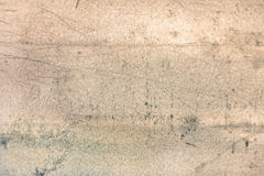 与被遮蔽的边缘的老金属纹理 图库摄影