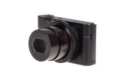 与被隔绝的开放透镜的数字式袖珍相机 免版税库存图片