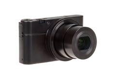 与被隔绝的开放透镜的数字式袖珍相机 免版税图库摄影