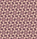 与装饰叶子的无缝的样式,米黄 免版税库存图片