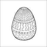与装饰品的复活节彩蛋 库存图片