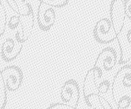 与装饰小插图线的抽象背景 也corel凹道例证向量 空间文本 免版税图库摄影