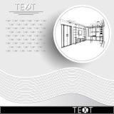 与装饰建筑学13_3的图表例证 图库摄影