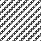 与装饰条纹的无缝的几何对角样式 免版税库存照片