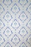 与装饰设计的葡萄酒墙纸 免版税库存照片