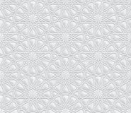 与装饰3d作用背景的几何样式 图库摄影