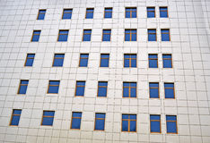 与视窗堆的抽象石墙, 库存图片