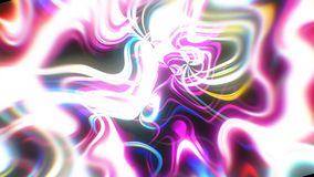 与视觉幻觉和波浪作用, 3d的抽象焕发能量背景回报计算机引起 库存例证