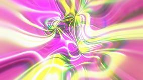 与视觉幻觉和波浪作用, 3d的抽象焕发能量背景回报计算机引起 向量例证