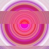 与许多圈子的抽象桃红色和紫色背景 库存照片