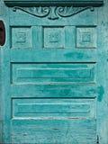 与设计2的葡萄酒老门 库存照片