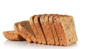 与谷物种子的加法的面包  库存图片