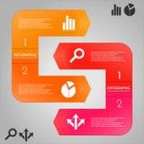 与象的Infographic模板 免版税图库摄影