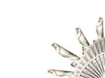 与货币的背景 免版税库存照片