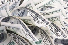 与货币的背景 免版税图库摄影