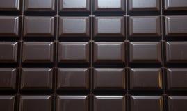与路径的巧克力块 免版税库存图片