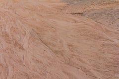 与踪影的表面沙子 库存图片