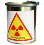 与辐射的桶 免版税图库摄影