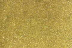 与选择聚焦2/3方式的金子闪烁下来从框架上面  库存照片