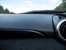 与透气的汽车仪表板 免版税库存图片