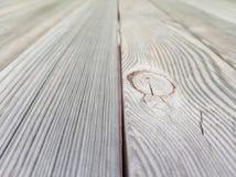 与透视作用的老棕色木地板纹理 免版税库存图片