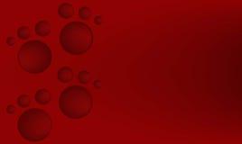 与逗人喜爱的脚印的红色背景 库存照片